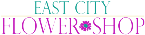 East City Flower Shop Logo